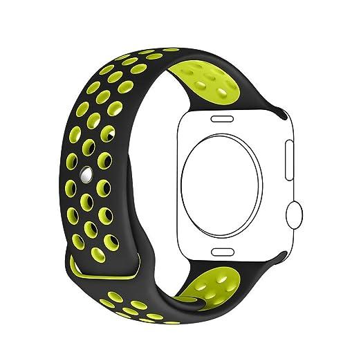 42 opinioni per Apple Watch 42mm Cinturino, Sanday Morbido Silicone Sostituzione Sport Banda