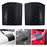 Black Body Armor Cowling Outter Cowling Cover for 2007-2017 Wrangler JK JKU Unlimited Rubicon Sahara X Corner Guards…