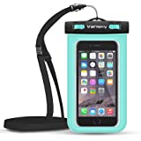 Waterproof Case, Vansky® Universal Mobile Phone Case Dry Bag for iPhone 6, 6 Plus, 6s,5s, Andriod; TPU Construction and IPX8 Certified to 100 Feet (Green) ❤Lifetime Guarantee❤