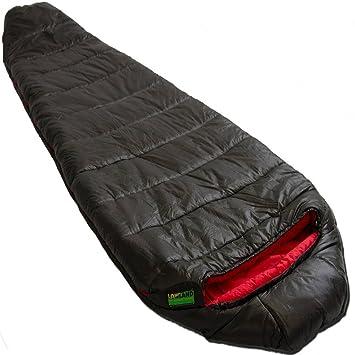 Lowland Outdoor - Pulsar 1 - Fibra sintética mummien Saco de dormir + 5 grados: Amazon.es: Deportes y aire libre