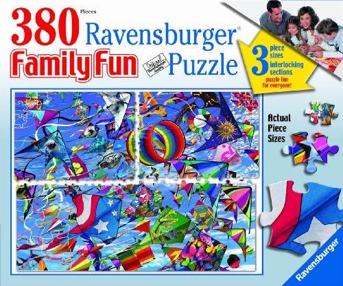 Go Fly A Kite Kites - Ravensburger Go Fly a Kite - 380 Piece Family Fun Puzzle