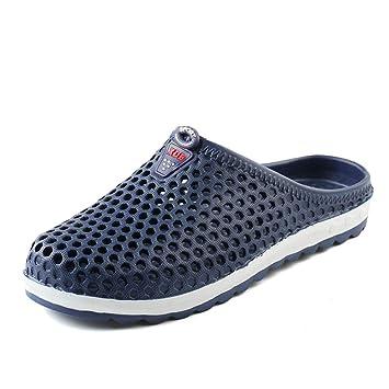 Aegilmc Niños Malla Net Zapatillas, Verano EVA Material Transpirable Antideslizante Niños Playa Tenis Zapatos,Blue,8.5US: Amazon.es: Hogar