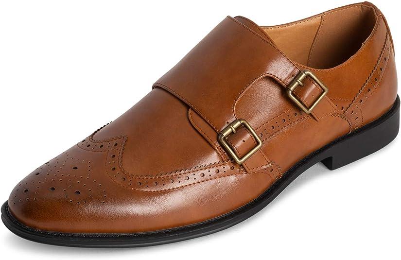 TALLA 40 EU. Hombre Queensberry George Cuero Formal Trabajo Oficina Inteligente Correa De MEnje Zapatos