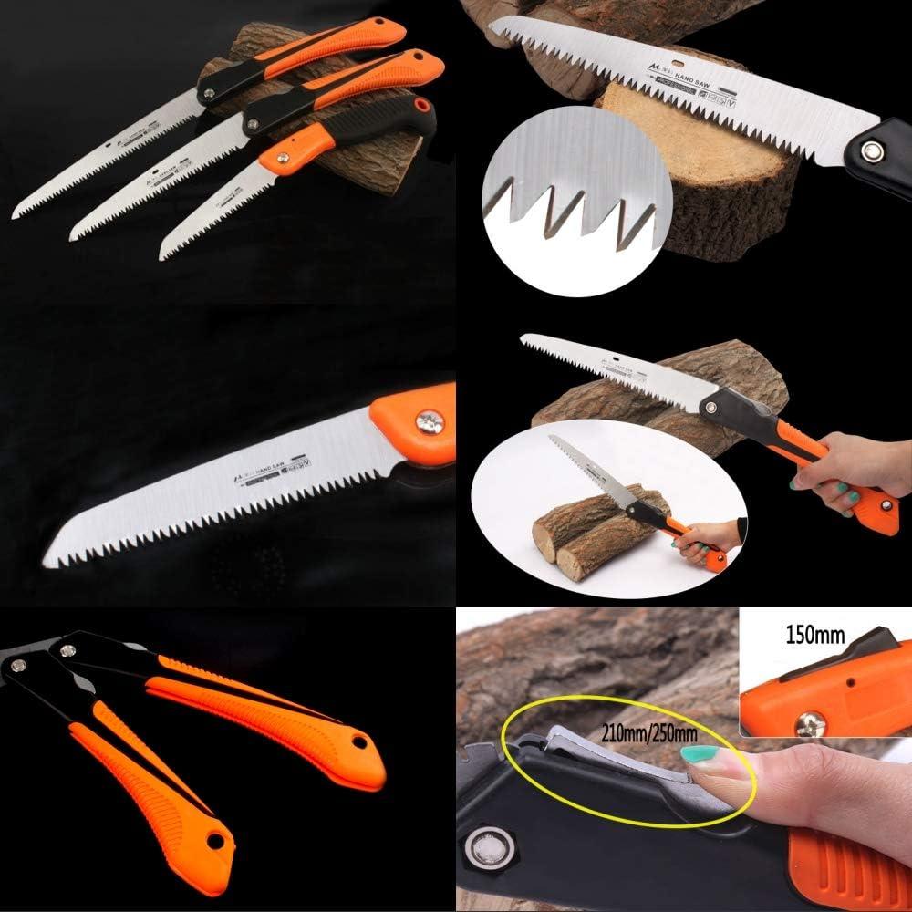 6//8//10scie pliante coupe bois scie /à main de survie scie domestique /élagage de jardin C 250mm