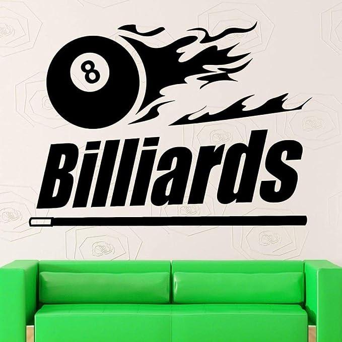 Etiqueta de Billar Snooker calcomanía Cartel Vinilo Adecuado Pared ...