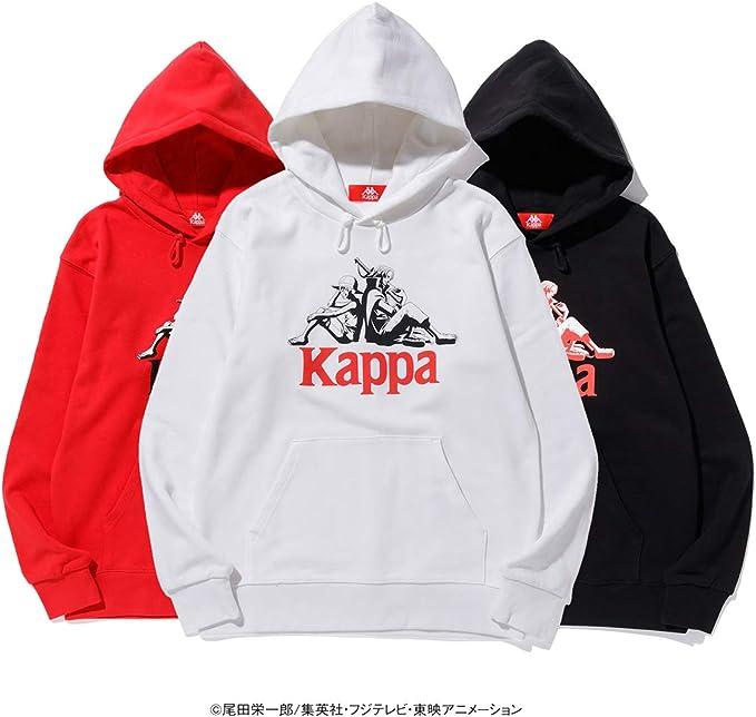 Kappa ONE PIECE OMINI LOGO TEE Luffy x Shanks Uni L size BK