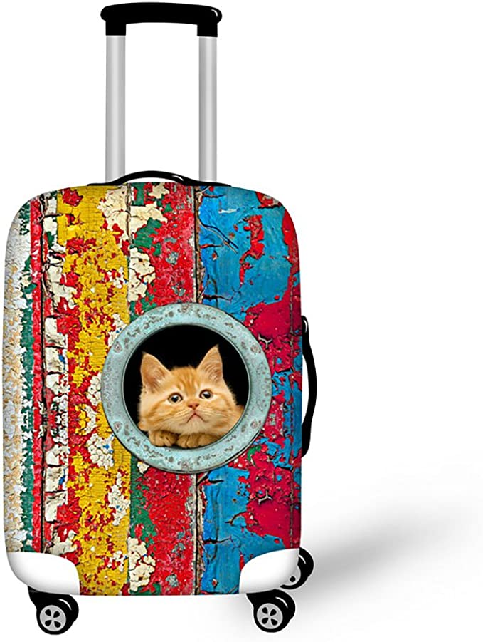 Suitcase Cover Adventure Time Finn Jak Trolley Travel Luggage Covers Suitcase Protector Washable Baggage Cover XL