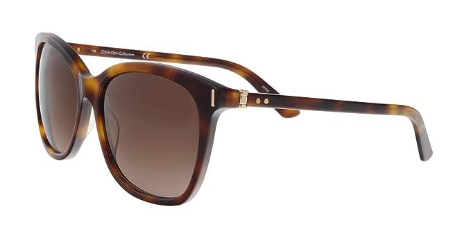Amazon.com: anteojos de sol CALVIN KLEIN ck8514s 218 tortuga ...