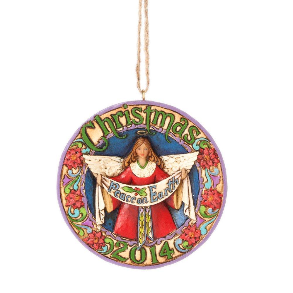 Amazon.com: Jim Shore Dated Christmas Ornament 2014: Home & Kitchen