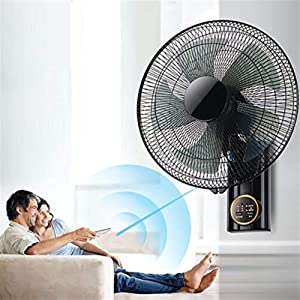 GOHHK Wall Fan with Remote Control, 16 Inch Oscillating Wall Fan with Timer, Quiet Operation, Cooling For The Summer At Home/Office