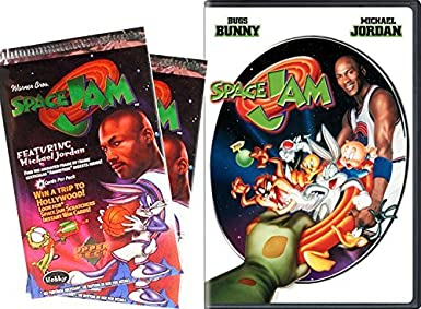 a346cbca858dce Image Unavailable. Image not available for. Color  SPACE JAM Trading Cards    Movie ...