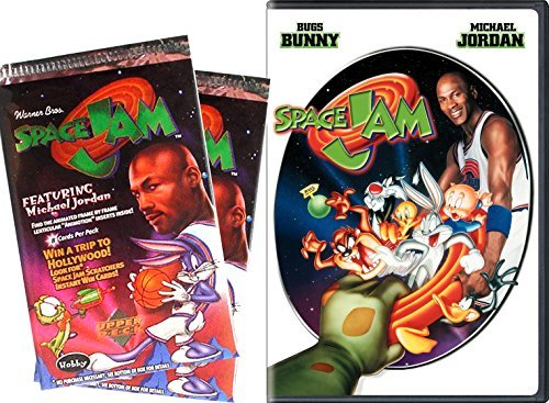 space-jam-trading-cards-movie-2-pack-looney-tunes-space-jam-trading-cards-dvd-starring-michael-jorda