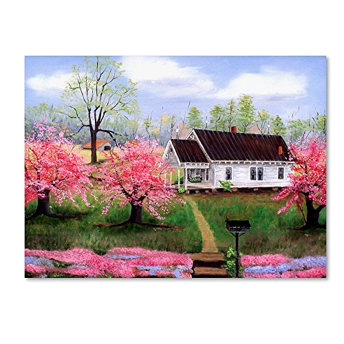Trademark Fine Art Mom And Dads In Spring by Arie Reinhardt Taylor, ()