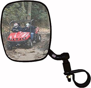 CIPA Universal Driver Left Side Mount UTV Rear view Side Mirror