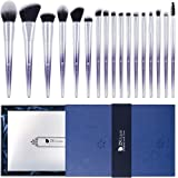 Makeup Brush Gift Set DUcare 17pcs Premium Cosmetic Brushes with Elegant Christmas Box Synthetic Foundation Blending Blush Face Eyeliner Shadow Brow Concealer Cosmetic Brush Set