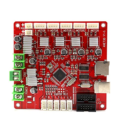 Anet E12 Mainboard, 12V-24V Replacement Control Board/Motherboard for E12 3D Printer by Qibei