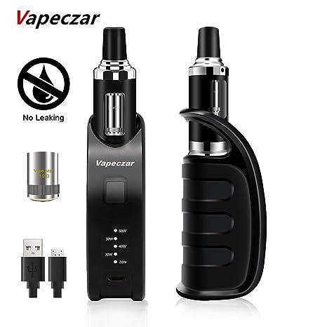 Cigarrillo Electrónico, Kit de Inicio,Vaporizador Rellenado Por Parte Superior, 60W 2 ml/1.0 oHm, Batería Recargable, Sin Nicotina VAPEZCAR