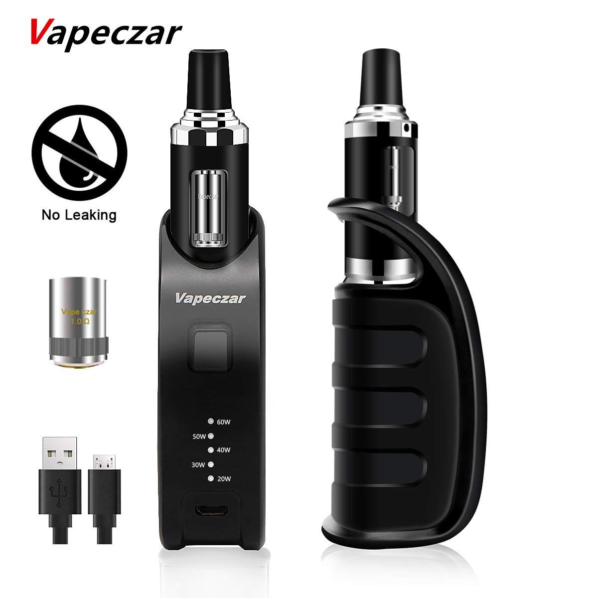 Cigarrillo Electrónico, Kit de Inicio,Vaporizador Rellenado Por Parte Superior, 60W 2 ml