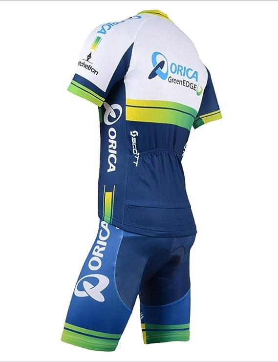 Fonly Maillot De Cyclisme /À Manches Courtes en /Ét/é Maillot De Cyclisme en Plein Air pour V/élo De Montagne S, M, L, XL, XXL, XXXL