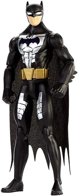Justice League Figura básica Traje de Acero, Batman, 30 cm (Mattel FPC62)
