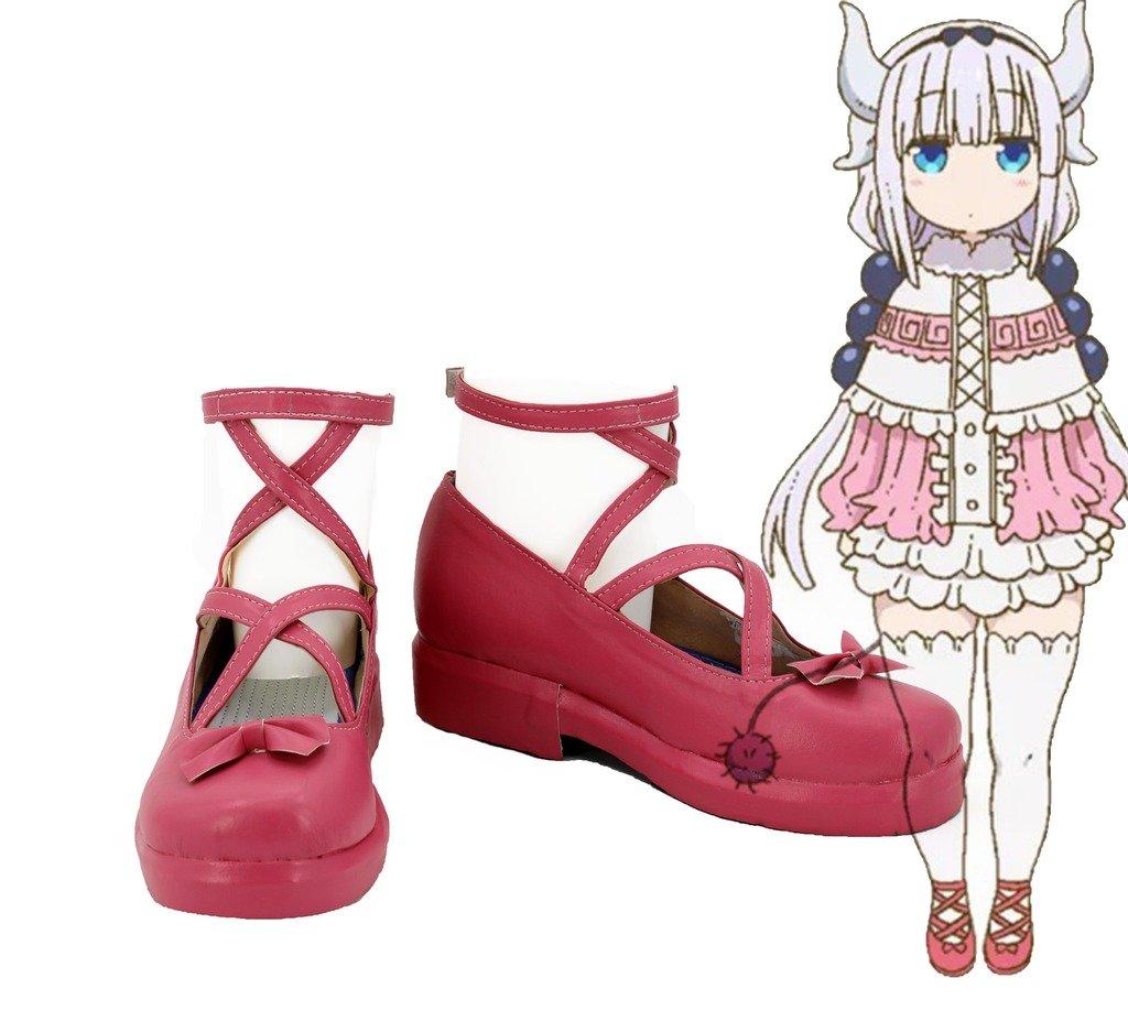 Miss Kobayashi's Dragon Maid Kanna Kamui Cosplay Shoes Boots Custom Made