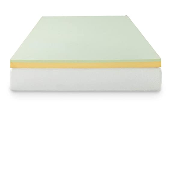 Amazon.com: Zinus 3 Inch Green Tea Memory Foam Mattress ...