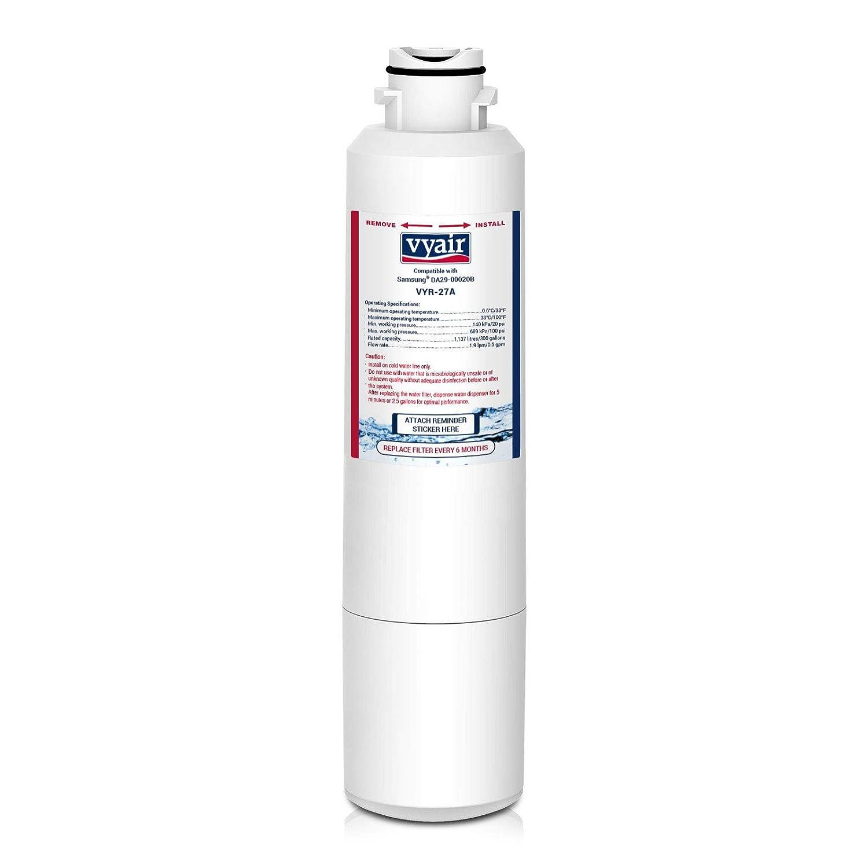 1 x Vyair vyr-27 a hielo y agua filtro de frigorífico para Samsung DA29 - 00020B, DA29 - 00020b-1, HAF-CIN/EXP, DA97 - 08006 A-E, DA97 - 08043 ABC, ...