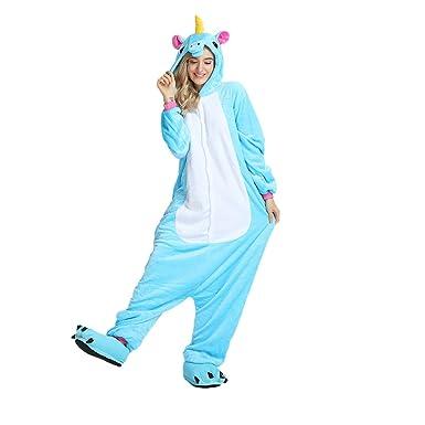 yd cloud adult unicorn pajamas for men women girls onesies animalsfamily christmas