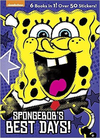 on sale SpongeBob\'s Best Days! (SpongeBob SquarePants) (Jumbo ...