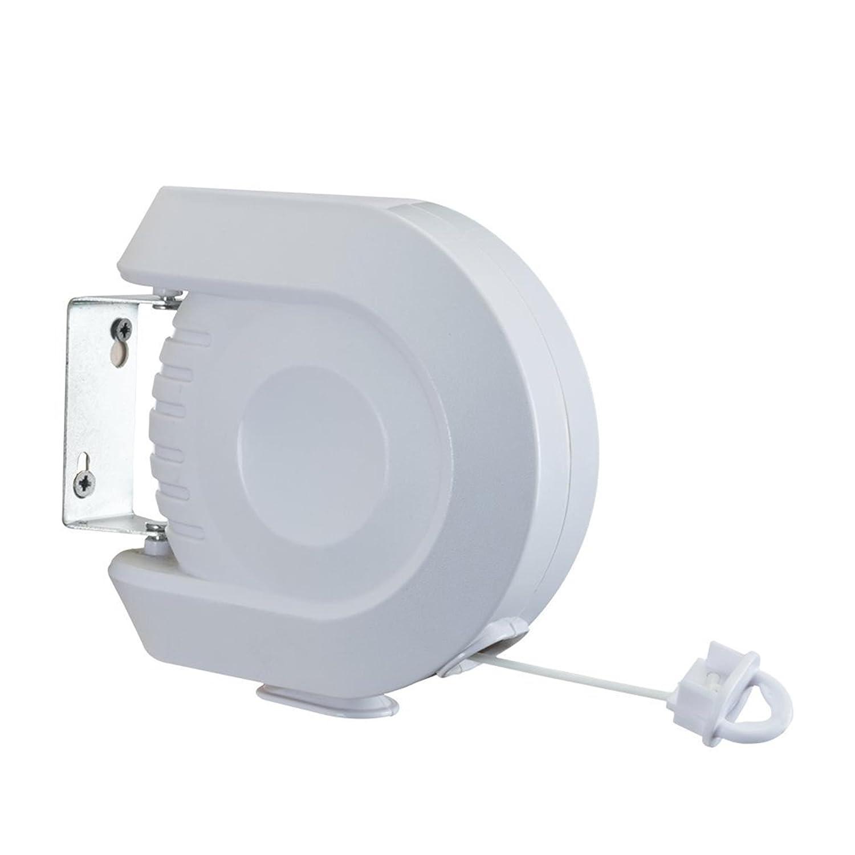 Metaltex Corde à linge rétractable d'extérieur 15 m 40.63.76