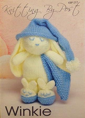 Knitting by Post Strickmuster Winkie das Häschen, weiches Spielzeug ...