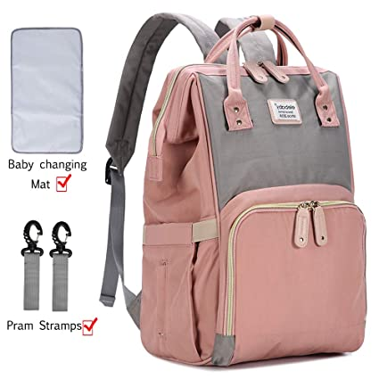 Changing Bags Baby USB Large Diaper Nappy Mummy Changing Bag Backpack Hospital Baby Changing & Nappies Little Bag