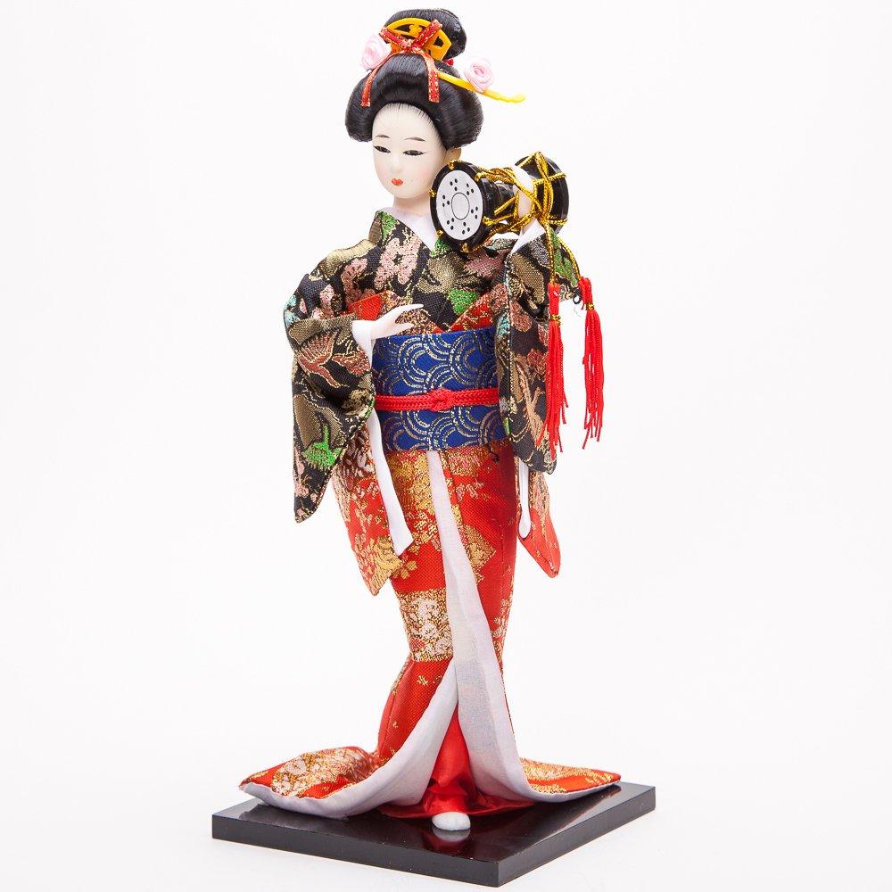 """12"""" Japanese GEISHA Oriental Doll ZS1017-12"" MZO"