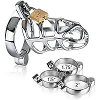 Hoogwaardig metalen roestvrijstalen drievoudig ringslot (hanenkooi)
