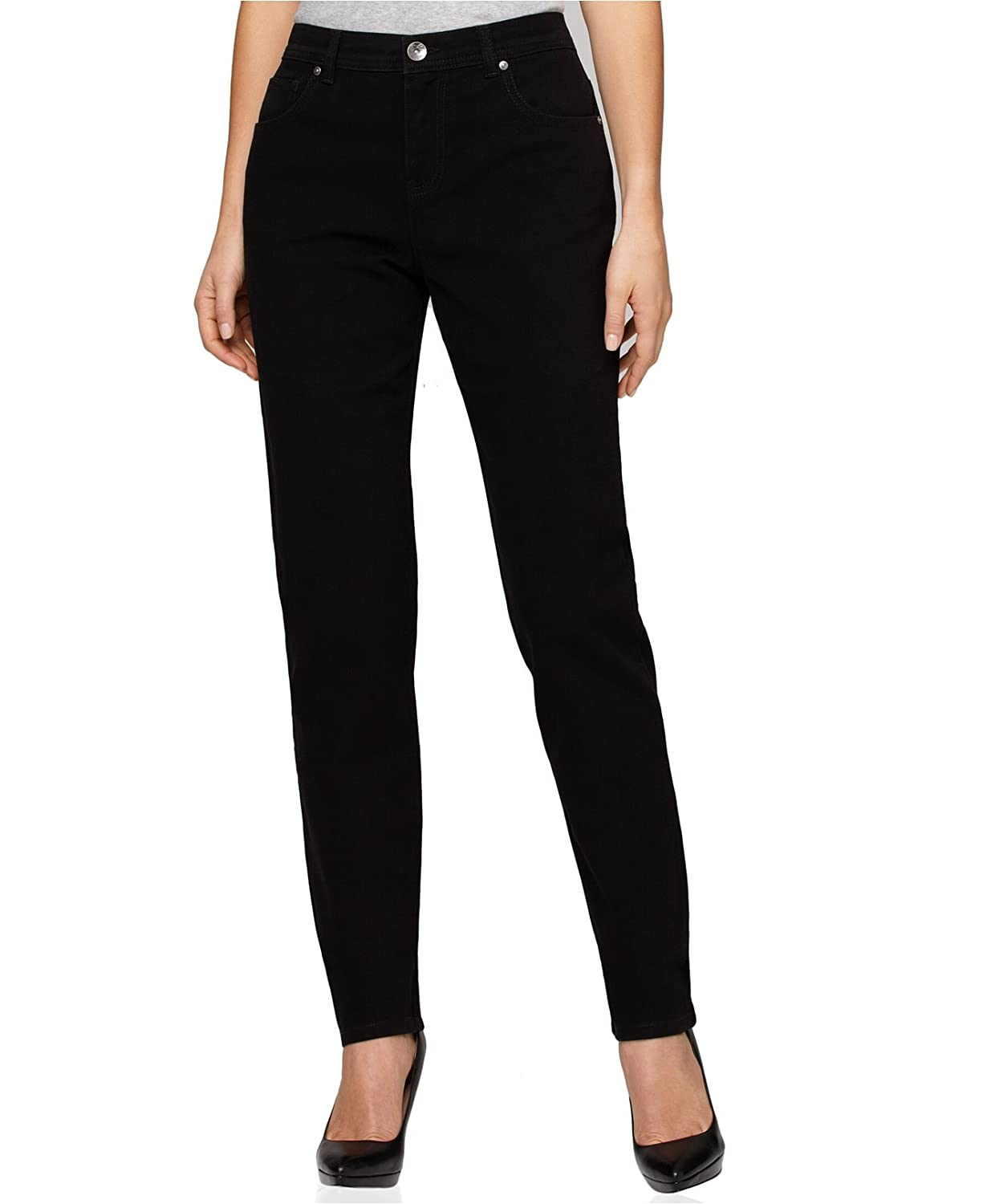 Style & Co Women's Tummy-control Tapered Natural Fit Pants