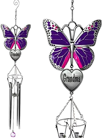 Windspiel mit Schmetterlingsmotiv …