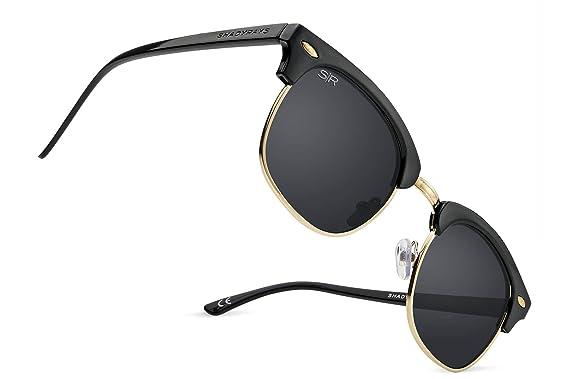 8e3e9bb36c2f Shady Rays Classics Oakmonts Polarized Semi Rimless Sunglasses for Men and  Women - Original