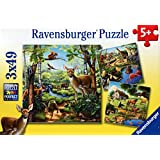 Ravensburger-Forest/Zoo/Domestic Animals (3X49PC) Puzzles