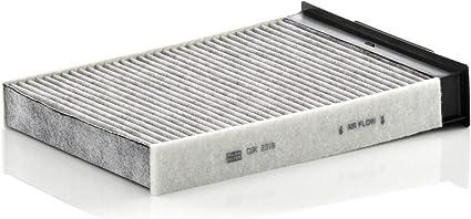Oferta amazon: MANN-FILTER Filtro de habitáculo CUK 2316, Filtro de habitáculo con carbón activo, para automóviles