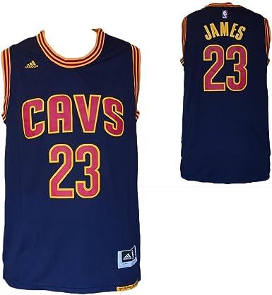 NBA - Camiseta réplica de Lebron James - Cleveland Cavaliers ...
