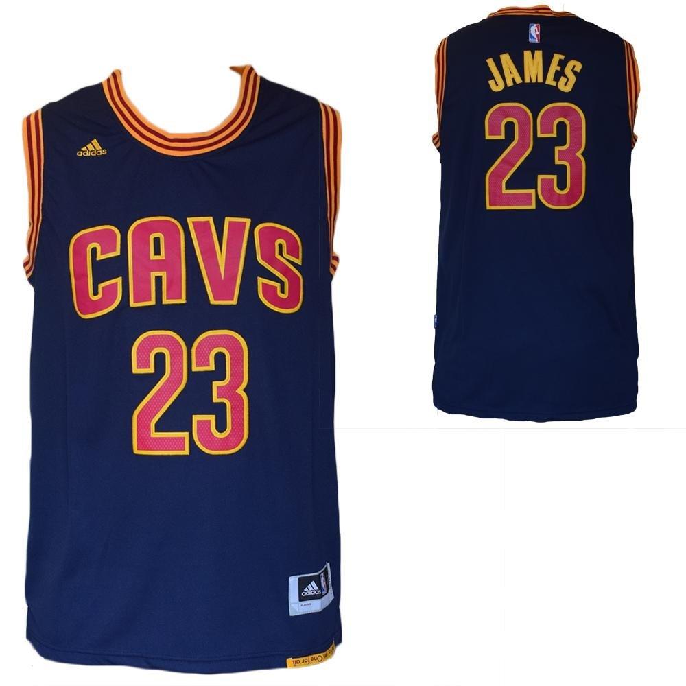 Cleveland Cavaliers LeBron James Maglia canotta NBA Blu-Taglia L