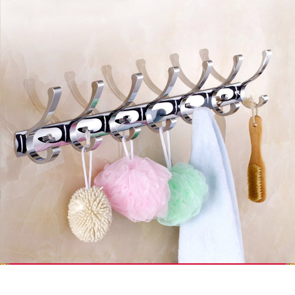 hot sale 2017 hook/Black coat hooks/ cloak-gig/Linked to the wall behind the door/Bathroom towel hook-B