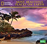 National Geographic Most Beautiful Places on Earth 2019 Wall Calendar by
