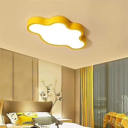 Amazon.com: GD1 Ceiling Light Yellow Children\'s Room Ceiling Lamp ...