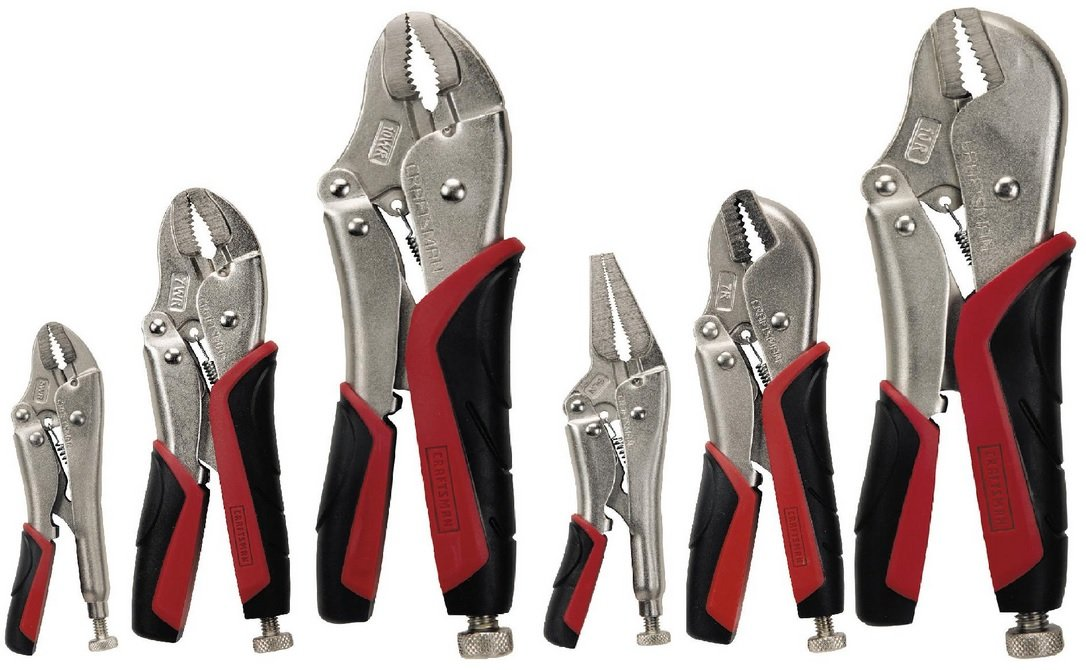Craftsman 9-45706 Professional Easy Release Locking Pliers Set, 6-Piece by Craftsman