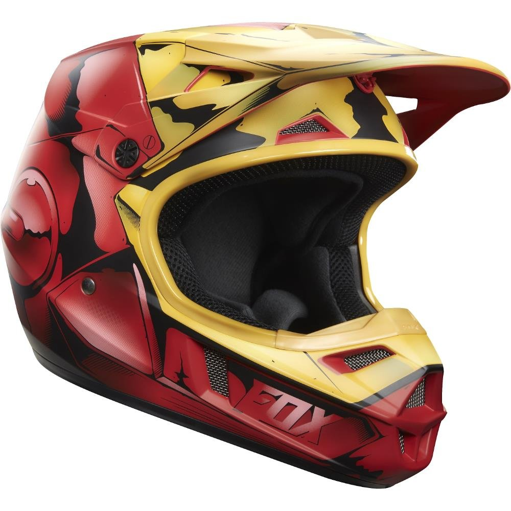 Fox Racing Iron Man Youth V1 Motocross Helmet