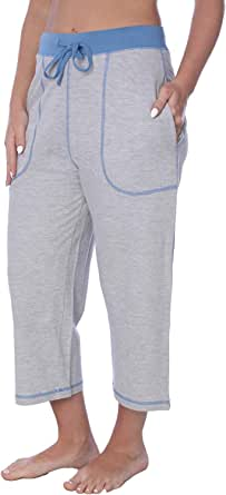 Beverly Rock Women's Capri French Terry Pant Available in Plus Size