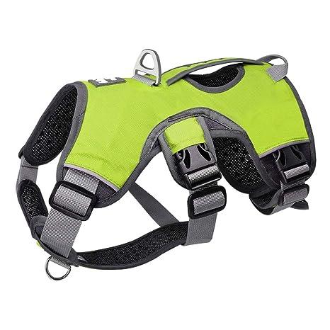 Pet Back Handle K9 Arnés Chaleco Transpirable Ajustable Perro ...