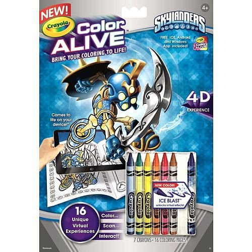 Amazoncom Color Alive Action Coloring Pages Pixie Kids Digital