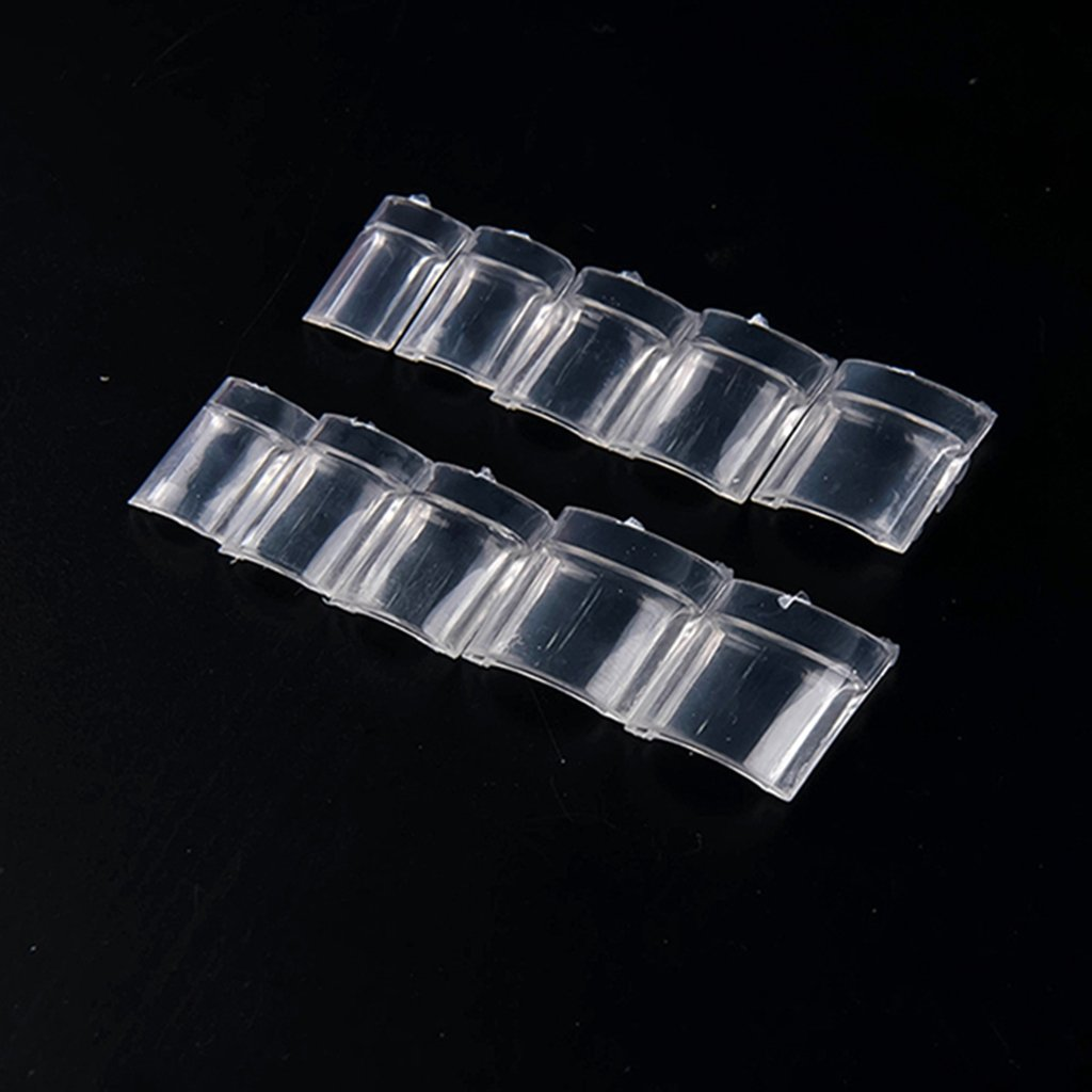 Amazon.com : Nadeco Aquarium Nail Tips, Water Bubble Nail Tips 3d ...